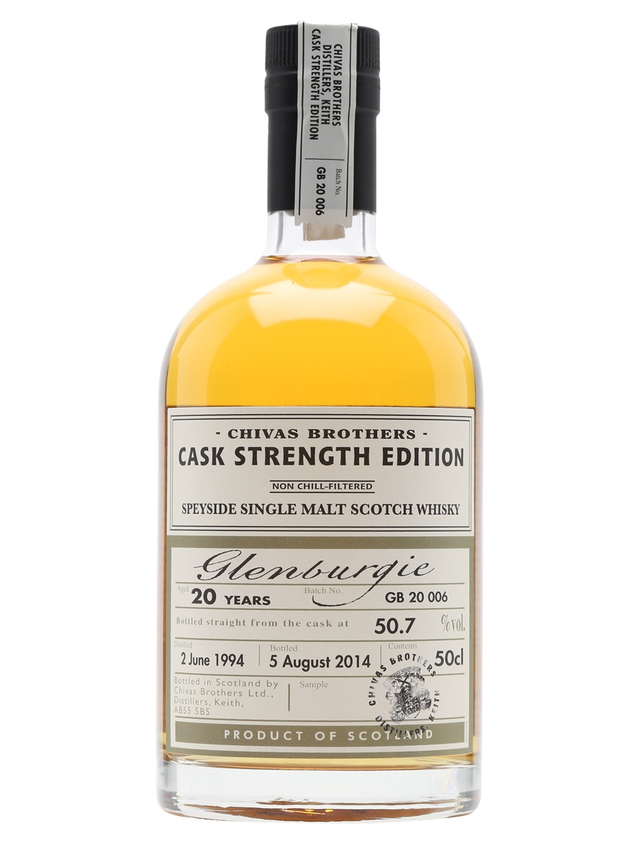 Glenburgie 1994 20 Year Old Cask Strength Edition