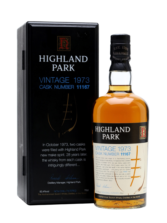 Highland Park 1973 28 Year Old Cask #11167