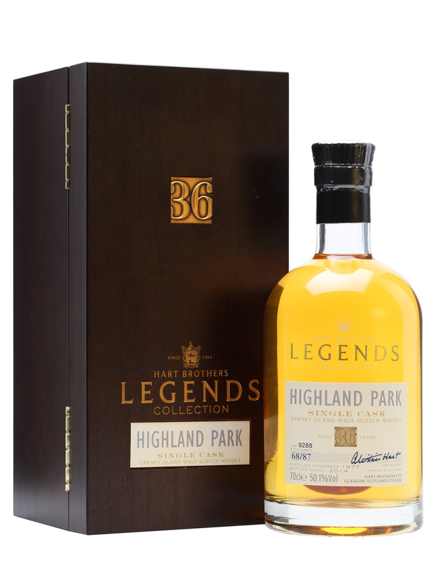 Highland Park 1977 Legends 36 Year Old Hart Brothers
