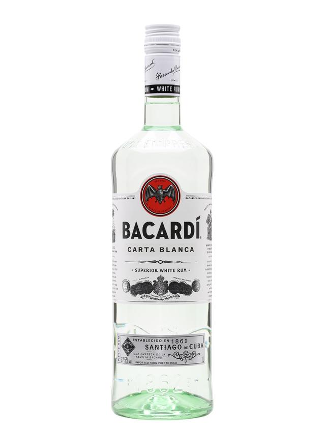 Bacardi Superior Carta Blanca Rum Litre