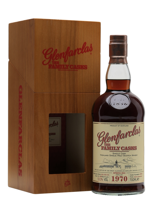 Glenfarclas 1970 Family Casks S15 Sherry #2026