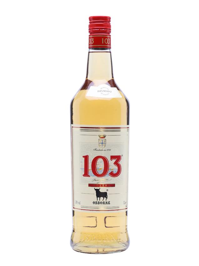 Osborne 103 Brandy Litre