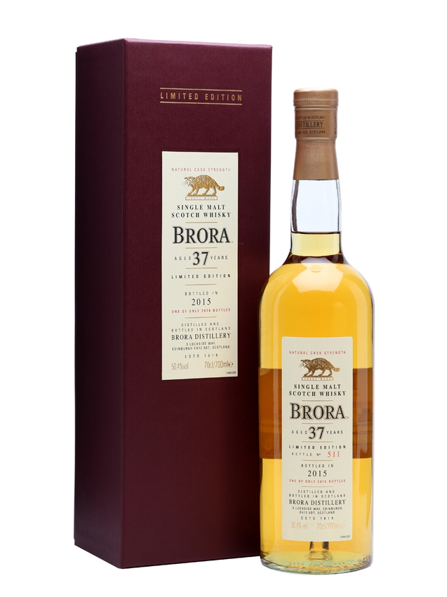 Brora 37 Year Old 14th Release Special Releases 2015