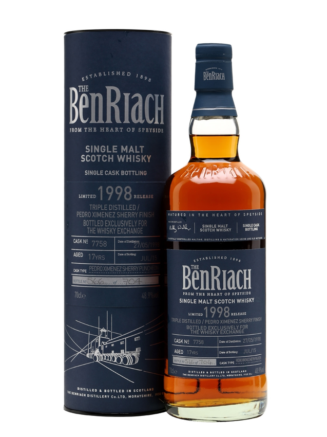 Benriach 1998 17 Year Old PX Finish TWE Exclusive