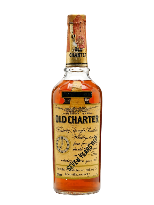 Old Charter Bourbon 7 Year Old Bot.1970s