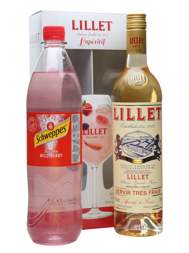 Lillet Blanc & Schweppes Russian Wild Berry