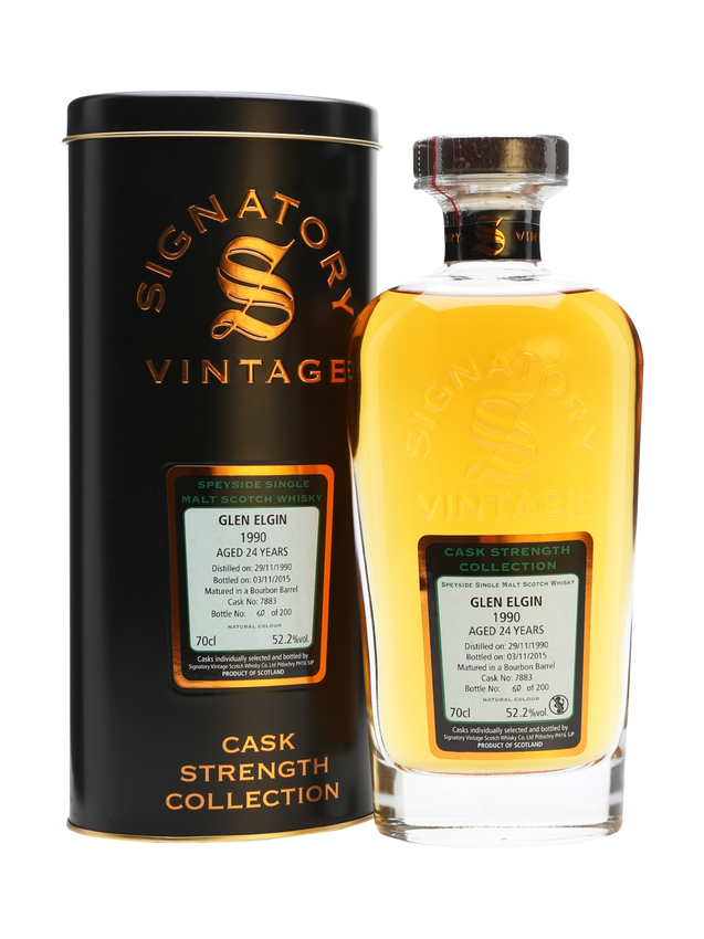 Glen Elgin 1990 24 Year Old Signatory