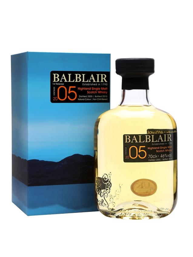 Balblair 2005 Bot.2015 1st Release