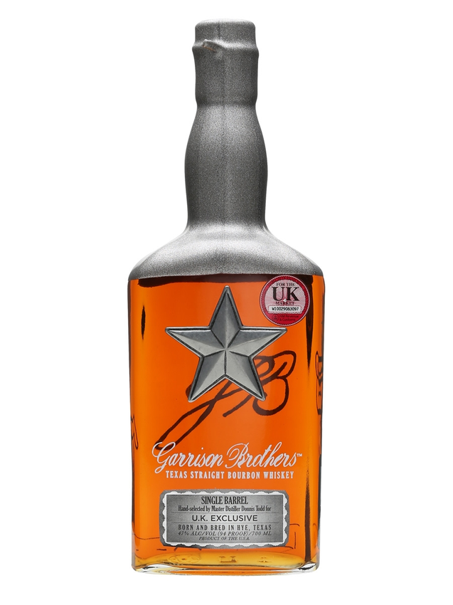 Garrison Brothers Single Barrel Bourbon 2011 3 Year Old