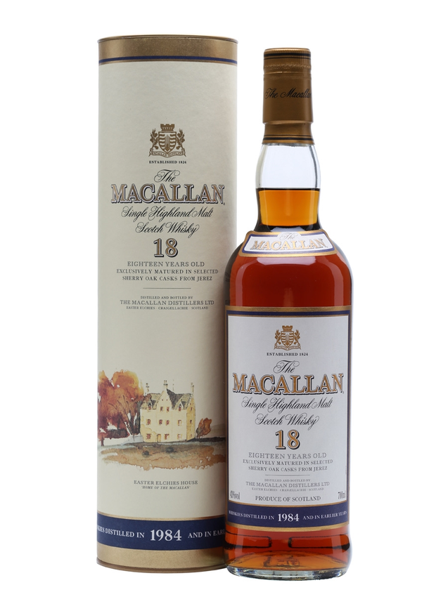 Macallan 1984 18 Year Old Sherry Cask