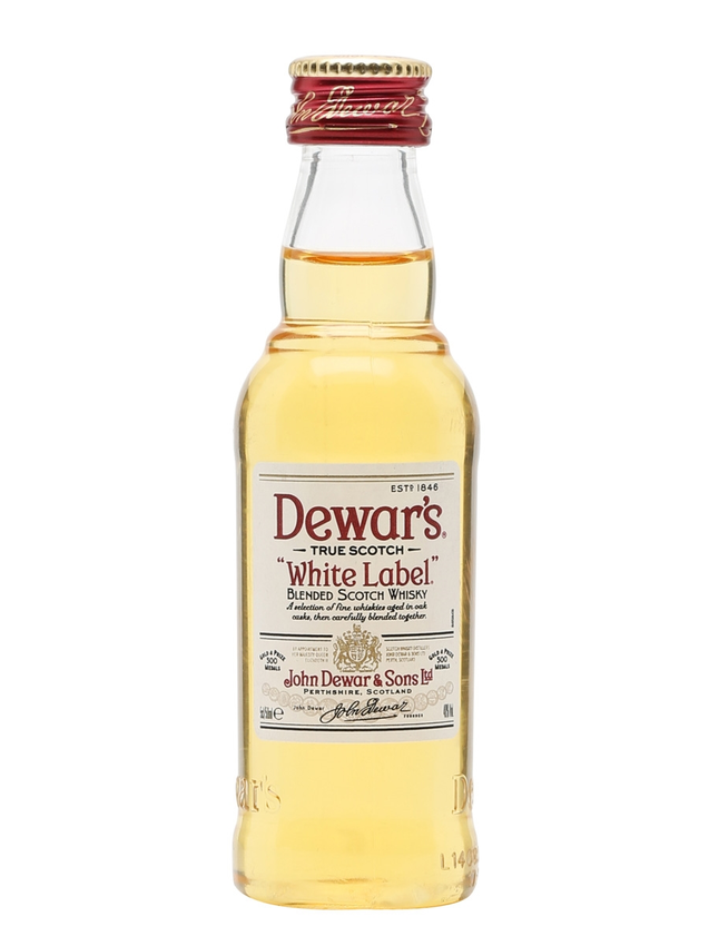 Dewar's White Label Miniature