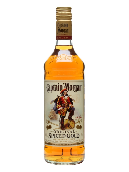 Captain Morgan Spiced Gold Rum Spirit Drink