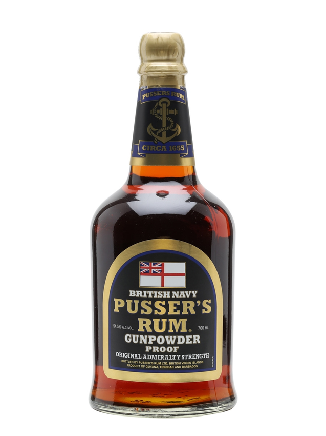Pusser's Gunpowder Proof British Navy Rum