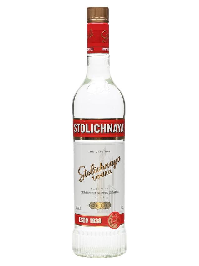 Stolichnaya Red Vodka