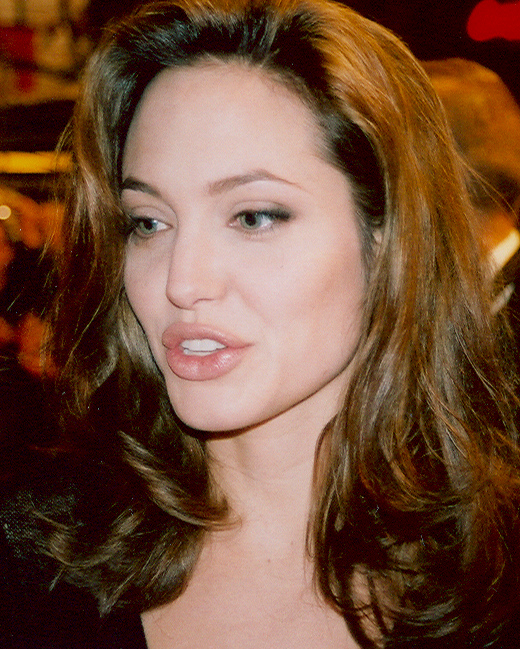 Jolie at the Cologne premiere of Alexander in December 2004