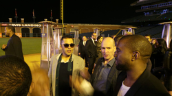 Kanye West, Ben Horowitz and Mahbod Moghadam(Kanye West of Tech) hanging out.