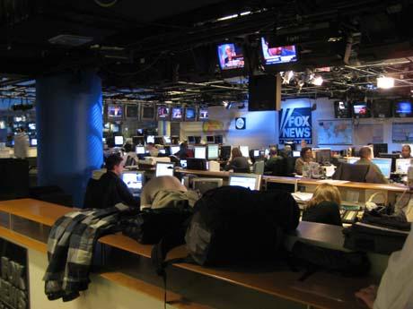 FNC's newsroom, November 15, 2007.