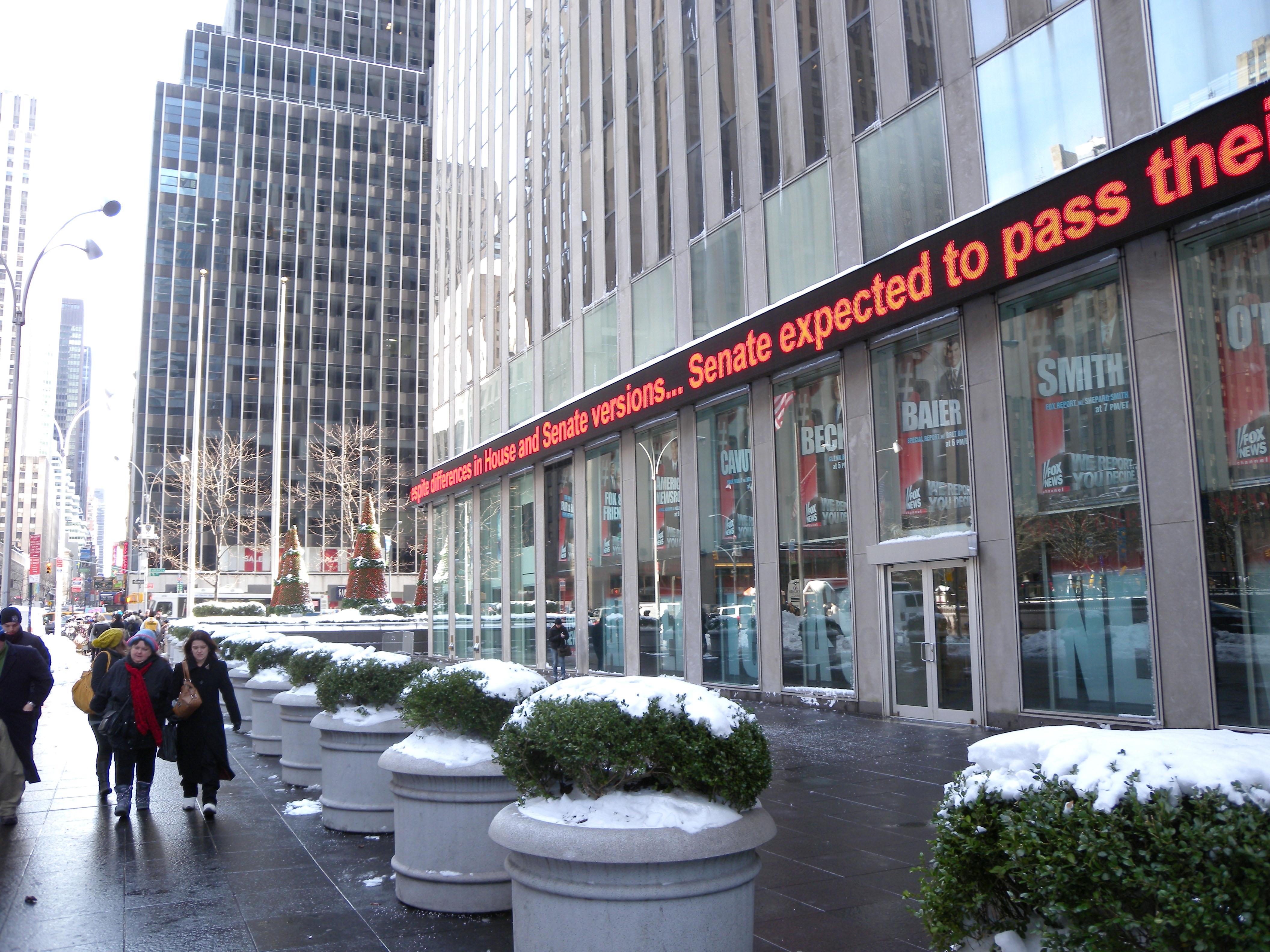 Sixth Avenue headquarters