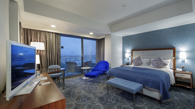 King Deluxe Room with Marina View