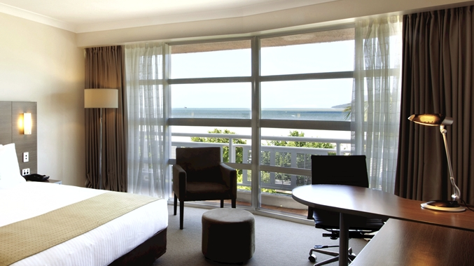 King Deluxe Room w/ Water View and Balcony