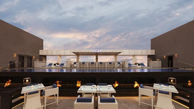 Rooftop Restaurant Level 12