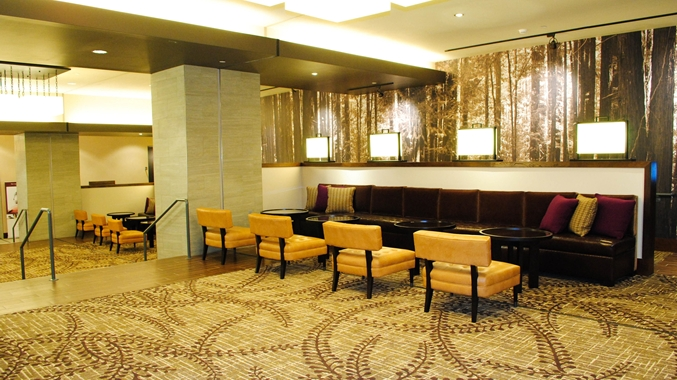 DoubleTree Reading PA Lobby Seating