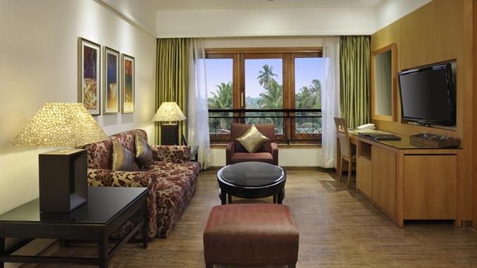 Living Room, one bedroom suite