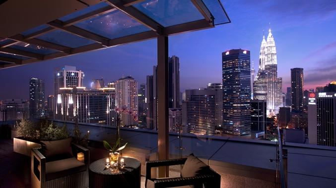 MY Terrace Suite Balcony