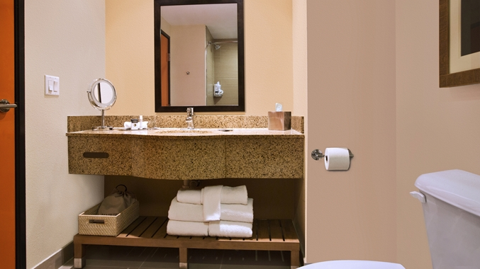 Standard Guest Room Vanity