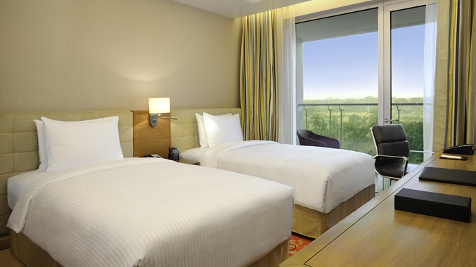 Suite Room with Twin Bed Room 4