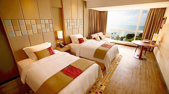 Twin Bed Guestroom