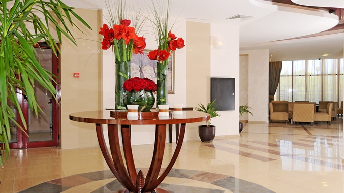 Flower Decoration in Lobby