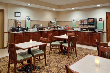 Anderson, SC Hotel's Complimentary, Hot Breakfast Area