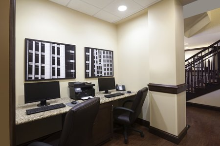 Bryant Hotel's Business Center with Computers