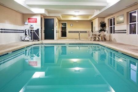 Indoor Pool at Country Inn & Suites, Calhoun