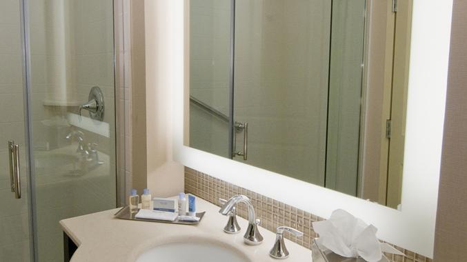 King Bed Standard Bathroom Mirror