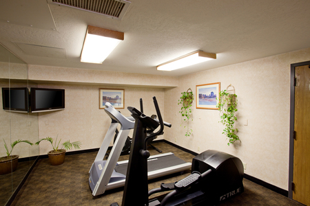 Fitness Room with Treadmill at Flagstaff Lodging