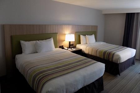 Sofa Bed in Flagstaff Hotel Room