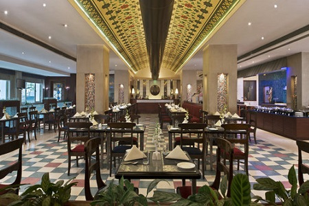 Mosaic Restaurant at Jaipur Lodging