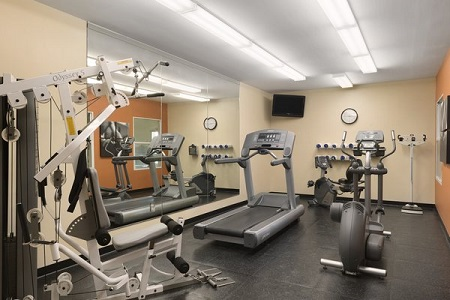 Fitness Center at Country Inn & Suites, Moline Hotel