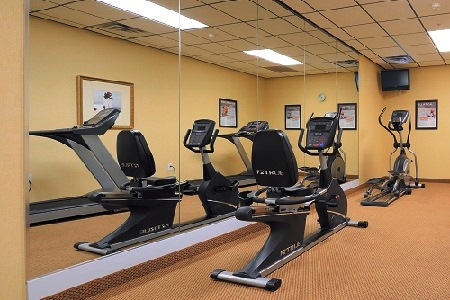 Orangeburg Hotel's Fitness Center