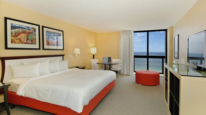 1 King Bed Ocean View Balcony