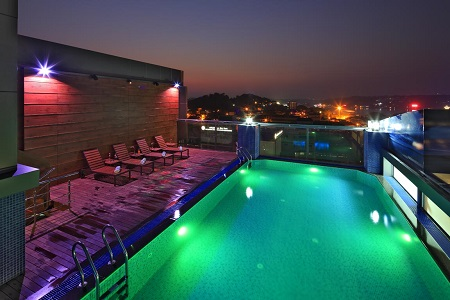 Panjim, Goa Swimming Pool at Country Inn & Suites