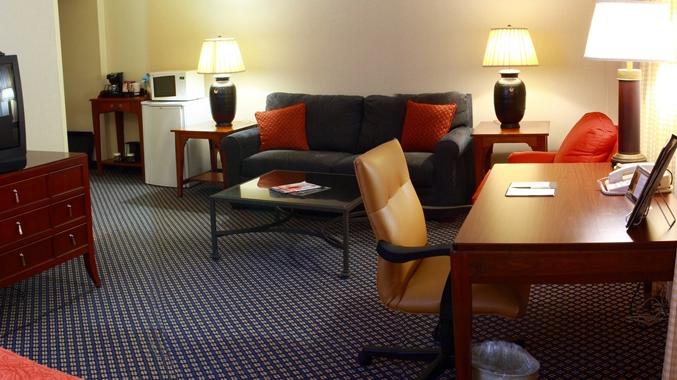 Parlor Suite Living Area