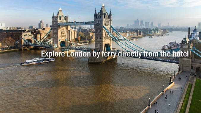 Explore London by River