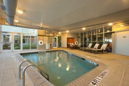 Heated Indoor Pool at San Antonio Airport Hotel