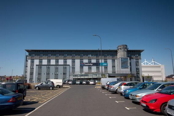 Blackpool South Shore - Hotel car park