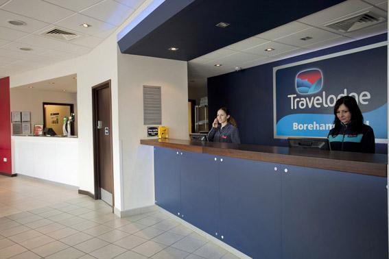 Borehamwood - Hotel reception