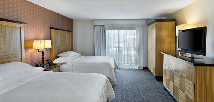 2 Queen Bed Suite Bedroom