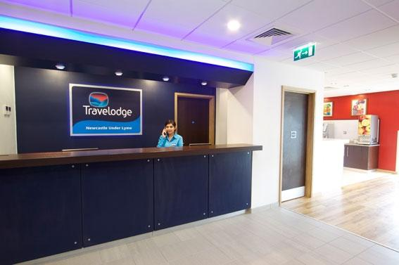 Newcastle-under-Lyme Central - Hotel reception